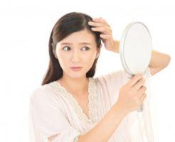 産後の抜け毛のお悩み