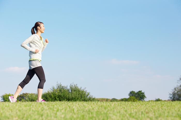 暖かい時期は運動で血行も良くなるし基礎代謝も上がる