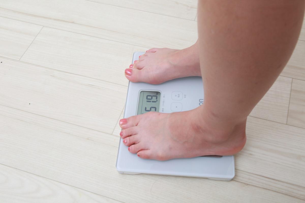 体重が落ちやすくなります