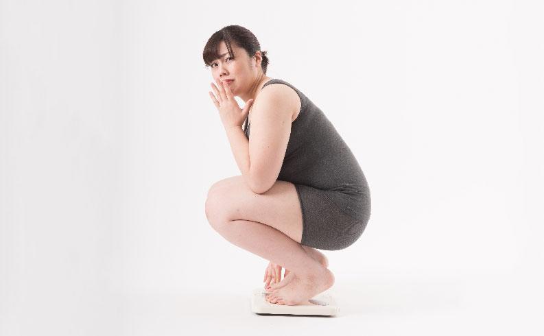 産後骨盤が広がり体重が増えた