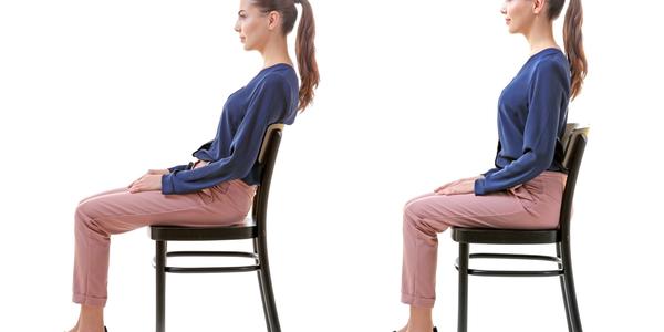 正しい姿勢の座り方