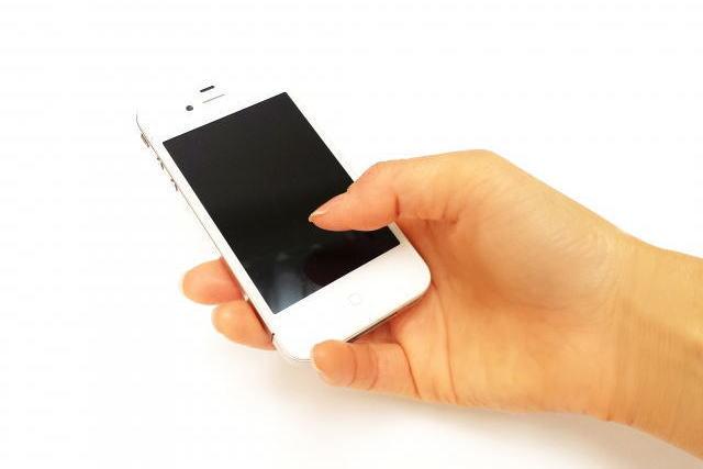 スマートフォンで腱鞘炎
