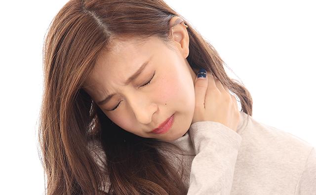 寝違えて首から肩が痛い