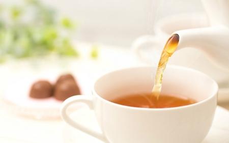 インフルエンザ予防に紅茶