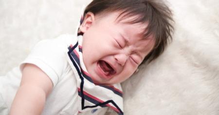 赤ちゃんが泣きやまなくイライラ