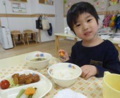 川越小仙波保育園の園児たち