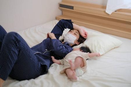 産後に風邪をひき乃は免疫力が落ちるから