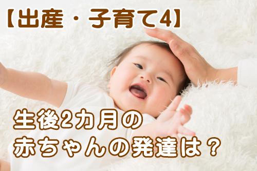 産後2か月の赤ちゃんの発達