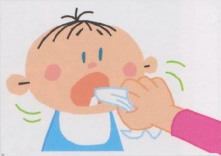 初めての赤ちゃんの歯磨き