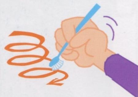 8ヶ月から1歳の歯の磨き方
