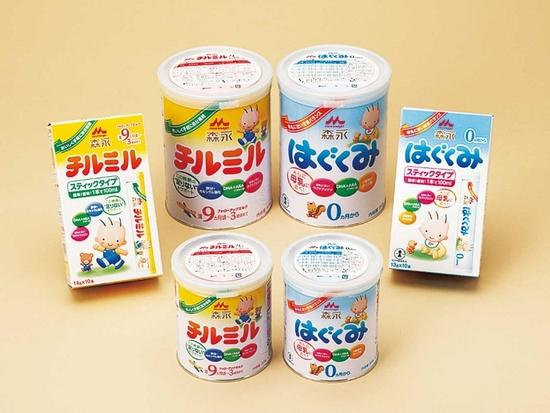日本の粉ミルク