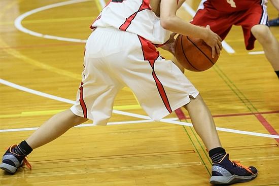 バスケットボールなどのビボット