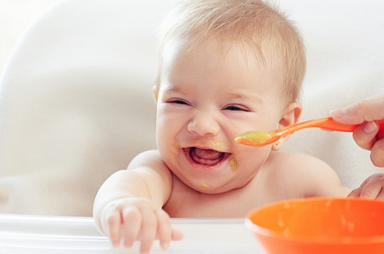 赤ちゃんの離乳食1
