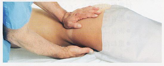腸腰筋のマッサージ、ほぐし方3