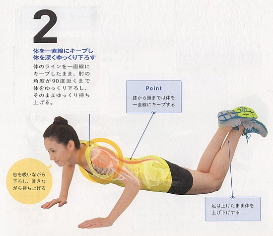 大胸筋の強化4