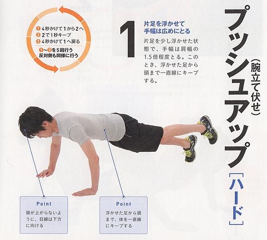 大胸筋の強化5