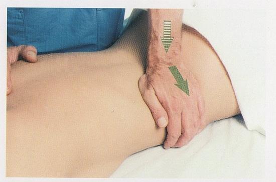 腰方形筋の整体