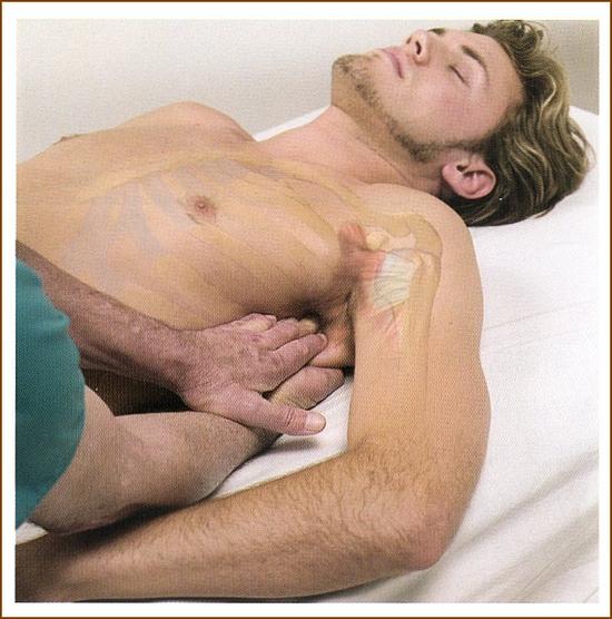 肩甲下筋のマッサージ5