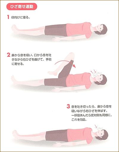 産後の体操10