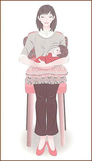 授乳時の姿勢