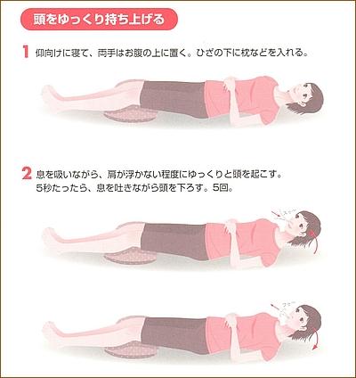 産後の体操5