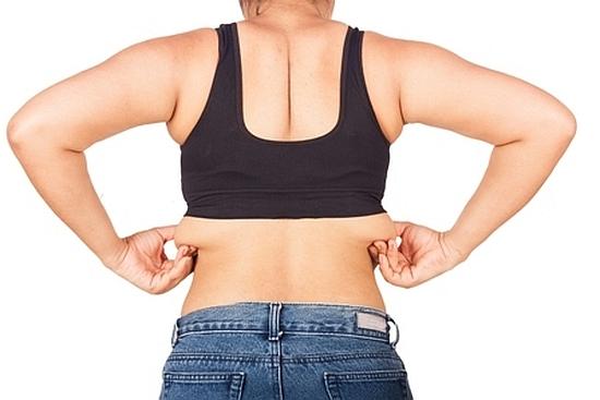 背中の脂肪