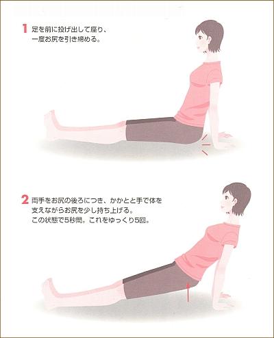 産後の腹筋運動4