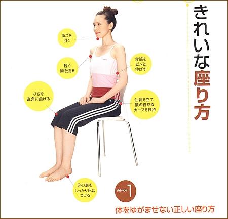 骨盤と背骨を歪ませない正しい座り方とは?
