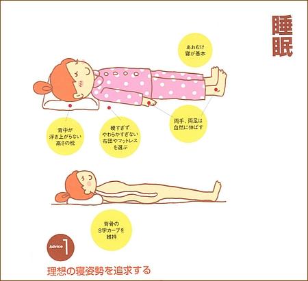 理想の寝姿勢を追求しましょう