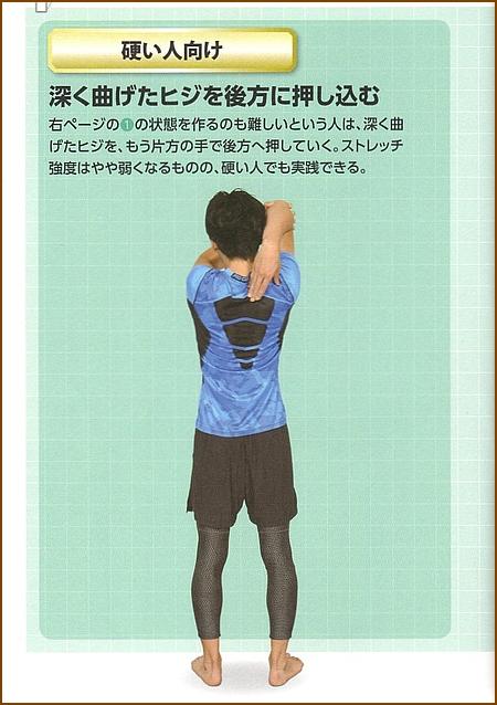 上腕三頭筋のストレッチ(基本)2