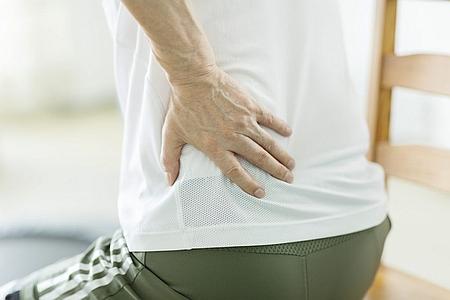 脊柱管狭窄症で腰痛