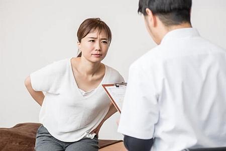 ぎっくり腰の改善
