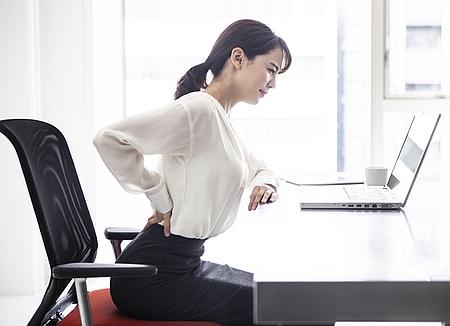 腰痛症は筋肉の疲労