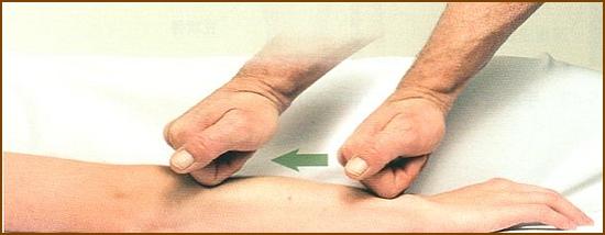 前腕伸筋群のほぐし方2