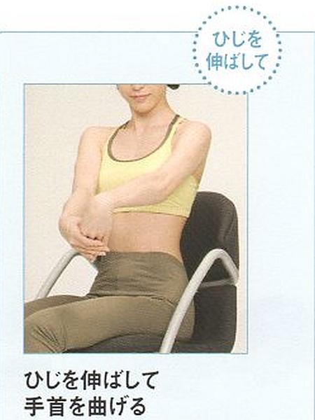 前腕伸筋群のストレッチ11