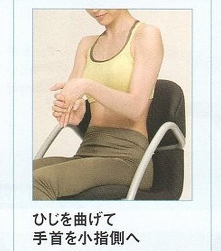 前腕伸筋群のストレッチ14