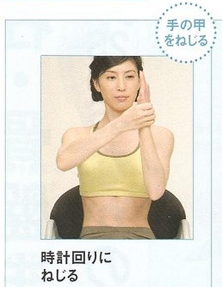 前腕伸筋群のストレッチ15