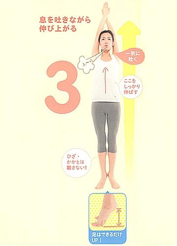 ぽっこりお腹改善運動「基本編」3