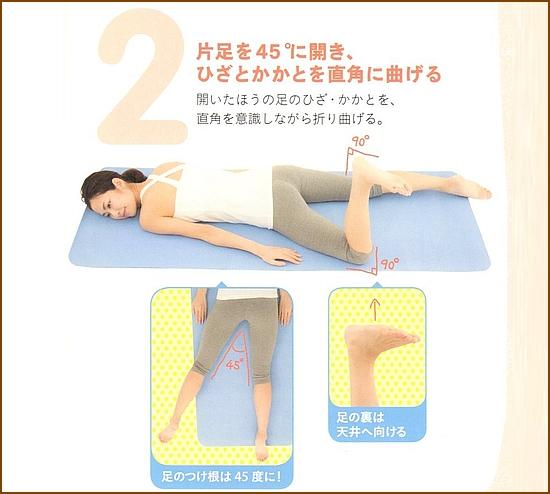夜の骨盤リセット運動を紹介「夜編」2