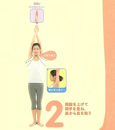 ぽっこりお腹改善運動「基本編」2