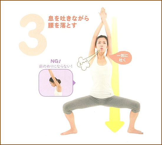 さらに美脚、美尻になる改善運動3