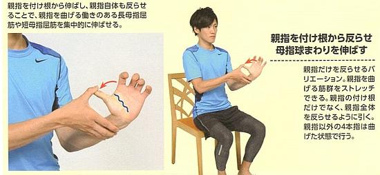 橈側手根屈筋(前腕屈筋群)のストレッチ方法【その5】