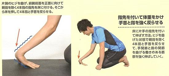 橈側手根屈筋(前腕屈筋群)のストレッチ方法【その6】