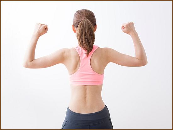 肩甲骨は健康のバロメーター