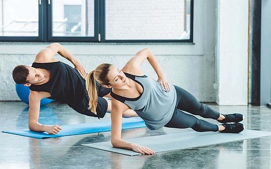 内腹斜筋のトレーニング