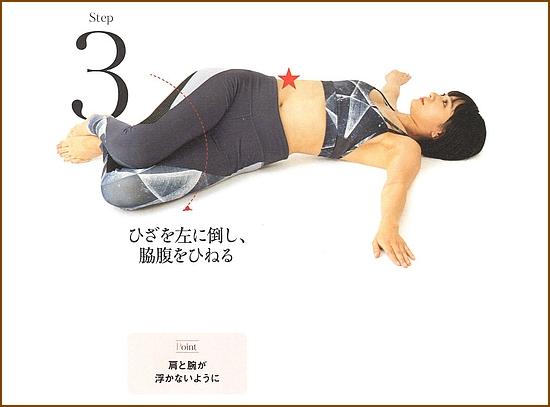 ウエストのダイエット・【スタンピングリフトツイスト】2
