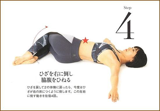 ウエストのダイエット・【スタンピングリフトツイスト】3