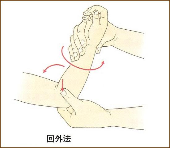 肘内障の治療方法